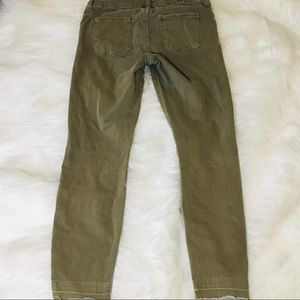 Kut from the Kloth Jeans - Kut From The Kloth Olive Fray Hem Skinny Jeans!